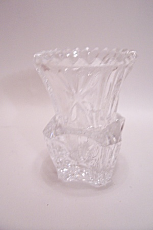 Brilliant Crystal Glass Toothpick Holder