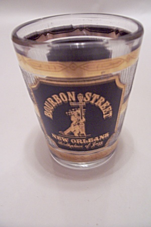 Bourbon Street, New Orleans Souvenir Shot Glass