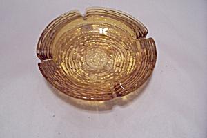 FireKing/Anchor Hocking Honey Gold Soreno Ashtray (Image1)