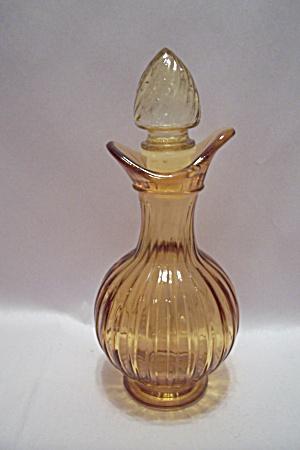 Avon Amber Pattern Glass Cruet (Image1)