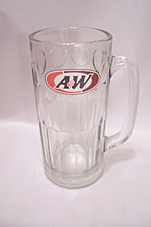 A&W Root Beer Large Crystal Glass Mug (Image1)