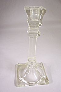 Lead Crystal Glass Candle Holder (Image1)
