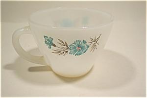 Blue Fleurette Tea Cups (Image1)
