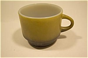 Short Avocado And Black Fire King Mug (Image1)