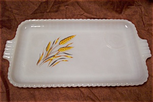Fire King Wheat Snack Set Tray (Image1)