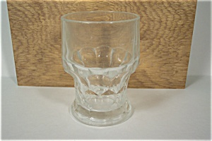 FireKing Georgian Pattern Crystal Glass Tumbler (Image1)