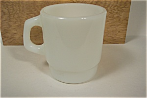 Fire King White Stackable Mug (Image1)