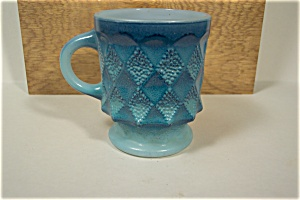 Fire King Blue Kimberly Mug (Image1)