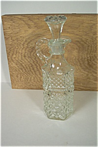 Anchor Hocking/Fire King Wexford  Pattern Cruet (Image1)