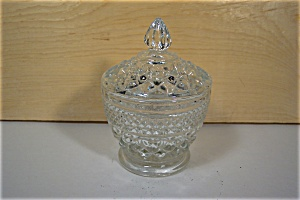 Anchor Hocking Wexford Crystal Sugar With Lid (Image1)
