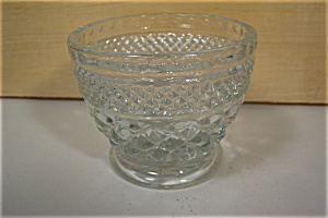 Anchor Hocking Wexford Pattern Crystal Sugar W/O Lid (Image1)