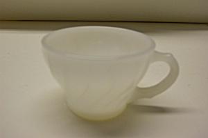 Milk White Shell Pattern  Demittase Cup (Image1)