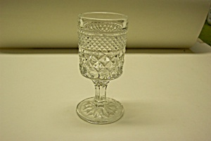 Anchor Hocking Wexford Pattern Cordial Crystal Goblet (Image1)