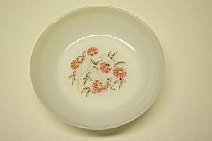 Fire King Fleurette Pattern Soup Bowl (Image1)