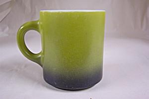 FireKing Avacado Color Glass Mug (Image1)