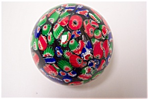 Murano Multi-colored Cane Paperweight (Image1)