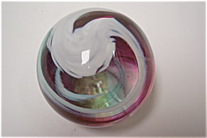 Abstract Swirl Paperweight