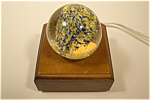 Abstract Twisted Multi-Colored Design Paperweight (Image1)