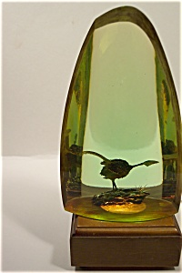Composition Oblong Bird Paperweight (Image1)