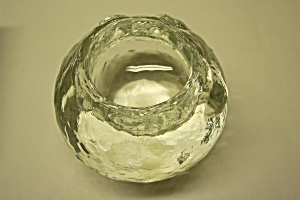 Crystal Glass Ink Pot Paperweight (Image1)