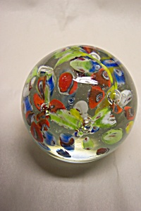 Abstract  & Controlled Bubble Paperweight (Image1)