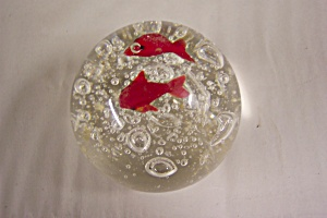 Art Glass Fish Paperweight (Image1)
