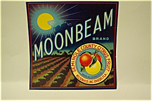 Moonbeam Brand Orange Crate Label (Image1)