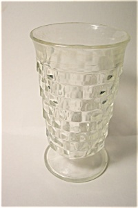 Indiana Glass Footed Iced Tea Glasses (Image1)