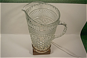 Anchor Hocking Wexford Pattern 64 Oz. Glass Pitcher (Image1)