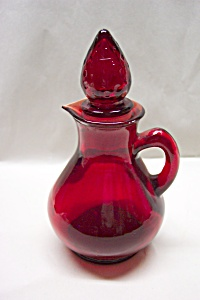 Avon Cape Cod  Ruby Red Cruet (Image1)
