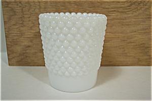Hobnail Milk Glass Toothpick Holder (Image1)