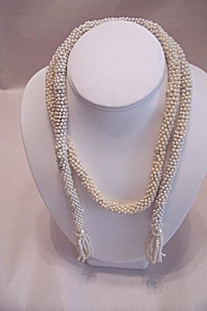 Vintage Bohemian Bead Rope Belt/Necklace (Image1)