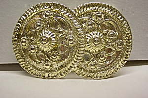 Brilliant Gold Plated Belt Buckle (Image1)