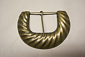 Antiqued Brass Belt Buckle (Image1)