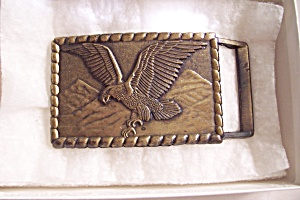 Bronze Colored Eagle Belt Buckle (Image1)