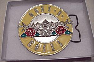 Guns N Roses Belt Buckle (Image1)