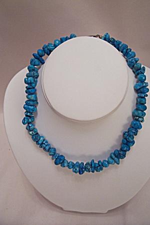 Vintage Turquoise Stone Necklace (Image1)