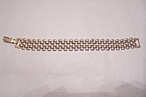 Vintage Napier Gold-Plated Link Bracelet (Image1)
