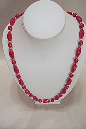 Red Bead Necklace (Image1)