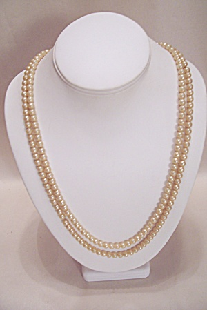 Simulated Pearl Necklace (Image1)