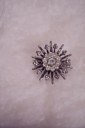 Rhinestone Starburst Brooch (Image1)
