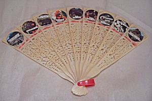 Smoky Mountains Plastic Souvenier Hand Fan (Image1)