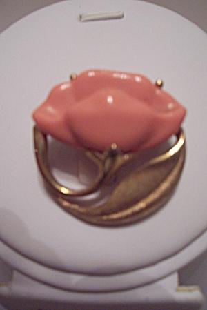 Avon Lotus Flower Brooch/Pin (Image1)