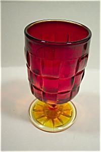 Viking Amberina Goblets (Image1)