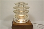 Hemingray #56 Clear Glass Insulator
