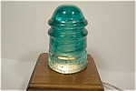 Hemingray #12 Aqua Glass Insulator