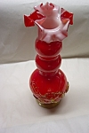 MURANO Handblown Cased Art Glass Vase