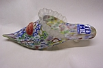 Click to view larger image of MURANO Art Glass Ladies Slipper (Image1)