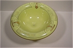 Click here to enlarge image and see more about item AGUS003: Vintage Pedestal Fruit Bowl