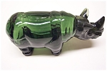 Click here to enlarge image and see more about item AMD0016: Big Game Rhino Decanter